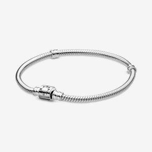 🍓Moments Barrel Clasp Snake Chain Bracelet